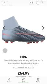 As new nike mecurial football boots.