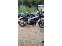 Triumph Sprint ST 955i MOT April 2018