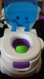 Fisher price musical potty seat