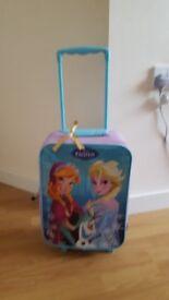 Girls frozen suitcase