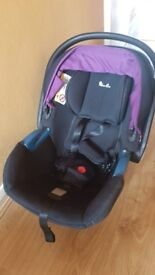 Silver Cross Isofix base and Simplicity car seat