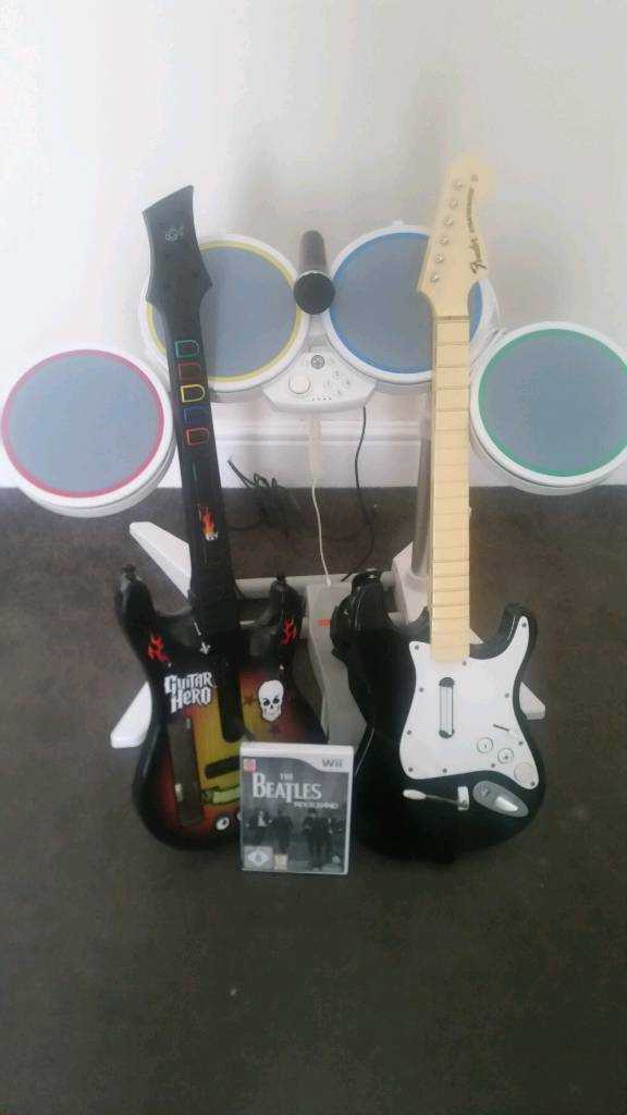 Wii + rock band (pls read )