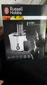 Russell Hobbs juice extractor brand new in box