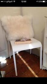 IKEA WHITE CHAIR DINING STUDY CHAIR