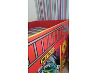 Boys Red single cabin bed