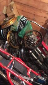 Pitbike spares/shockers/tyres/Handel bars