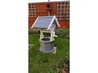 NEW*****wooden garden wishing well *****NEW only one left