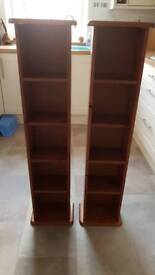 DVD/CD pine storage units