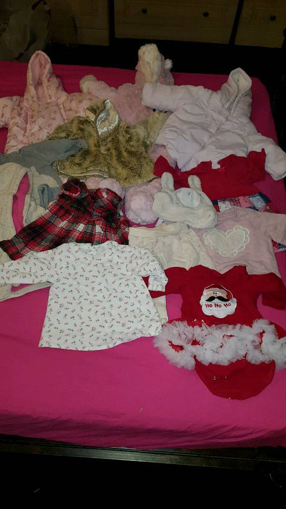 Girls Winter clothes 3-6m