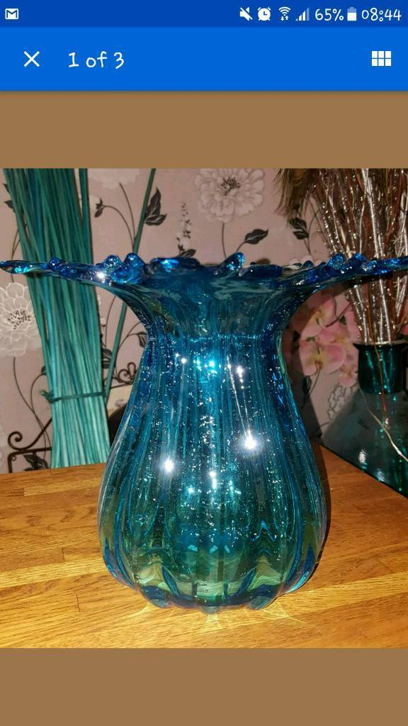 Large Turquoise Vase Flower In Radcliffe Manchester Gumtree