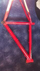 Carrera Vulcan bike frame