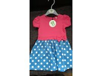 New BHS baby dress age 9-12 months x 2