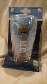 MCFC Glass & towel