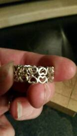 Pandora ring unknown size