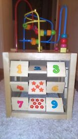 Wooden Play Cube (Early Learning Centre)