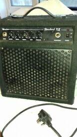 Warrior Amplifier for bass guitar