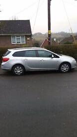 Vauxhall Astra 1.3 diesel, start/stop ecoflex. 20 pound year Road Tax