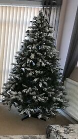 7ft show effect Christmas tree.