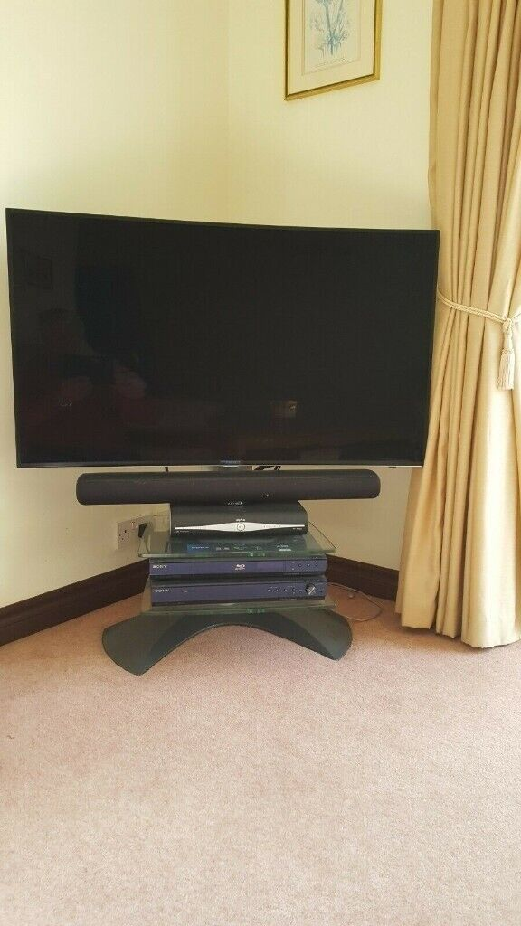 hot sales 1a88b 72b73 Vogel top quality TV Stand with additional glass shelf and concealed  cabling | in Gillingham, Kent | Gumtree