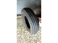 TRAILER TYRE VERY GOOD CONDITION 4.80 400 8 70M 6PR