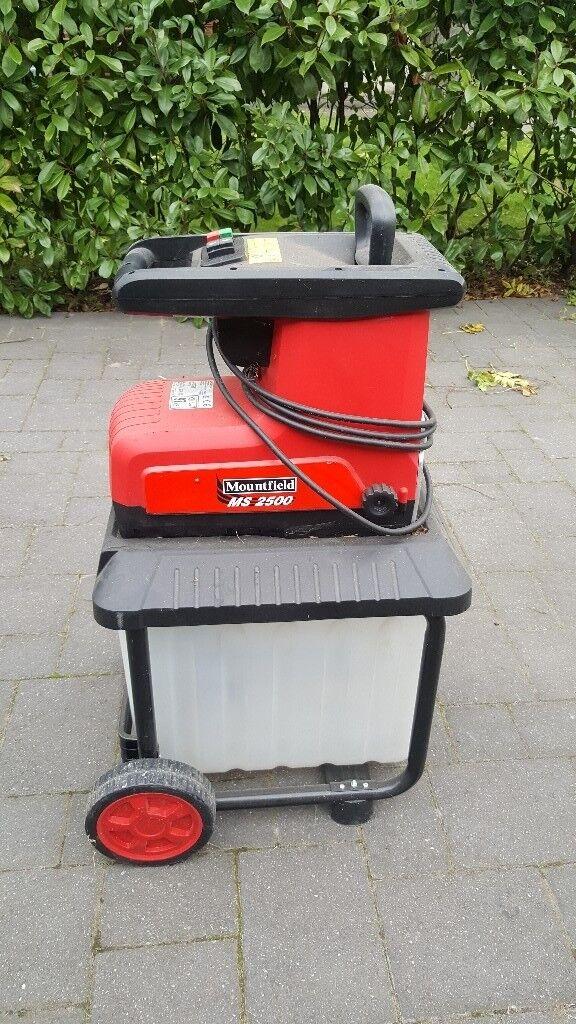 Mountfield MS2500 Garden Shredder