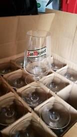 San miguel glasses