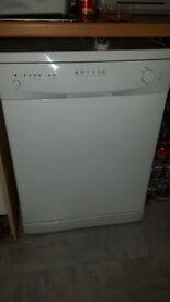 Under counter white dishwasher . Good clean working order just unused anymore