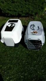 Cat litter box and cat carrier