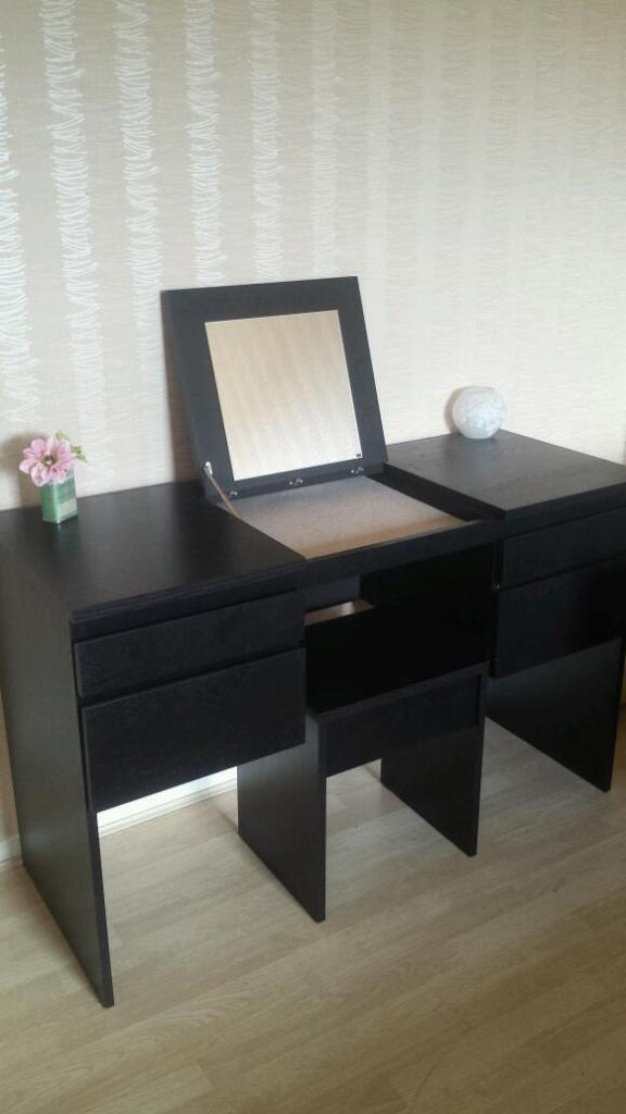 Ikea Ransby dressing table with mirror and chair in  : 86 from www.gumtree.com size 576 x 1024 jpeg 43kB