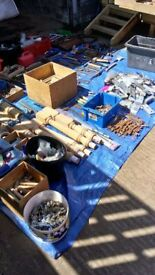 massive lot of stainless steel,bolts,tools,fixings