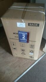 fridge freezer new in box 2 year guarentee