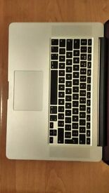 "Macbook Pro 15"" Late 2013 warranty until 2017 March"