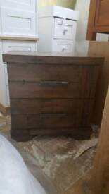 Chest of drawers Genuine wood