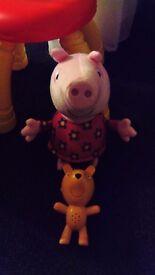 Talking Peppa Pig & Teddy