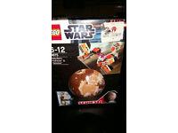 Lego Star Wars - Sebulba's Pod Racer and Tatooine Planet 9675