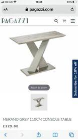Pagazzi grey marble table