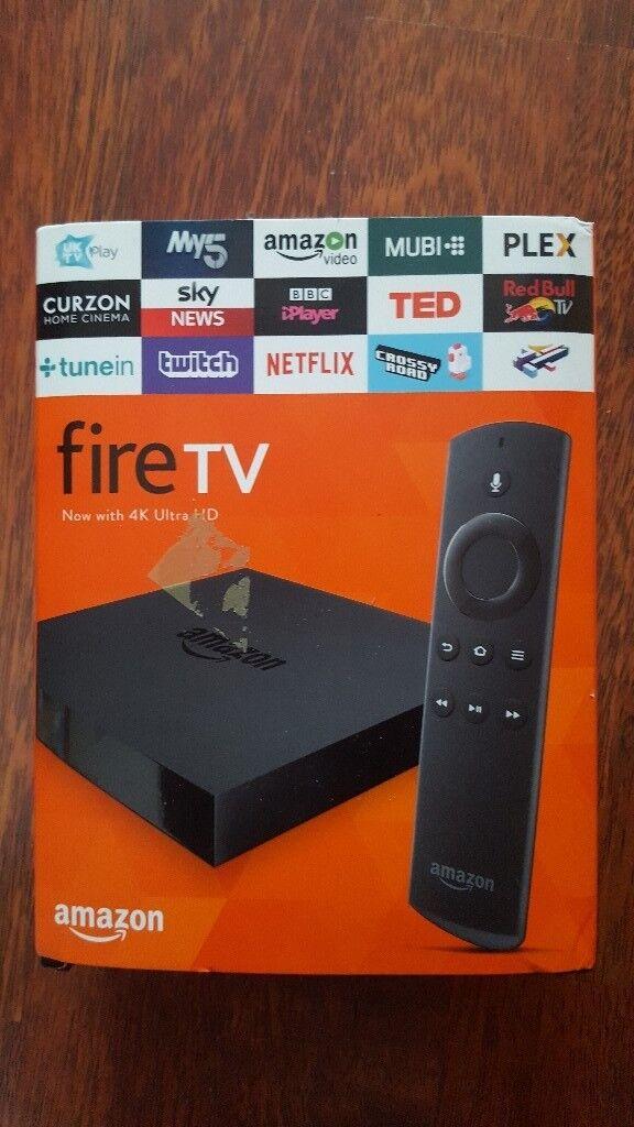 Amazon Fire Tv 4k Box In Luton Bedfordshire Gumtree