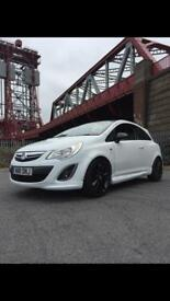 2013 63 Vauxhall corsa limited edition low mile cat d repaired