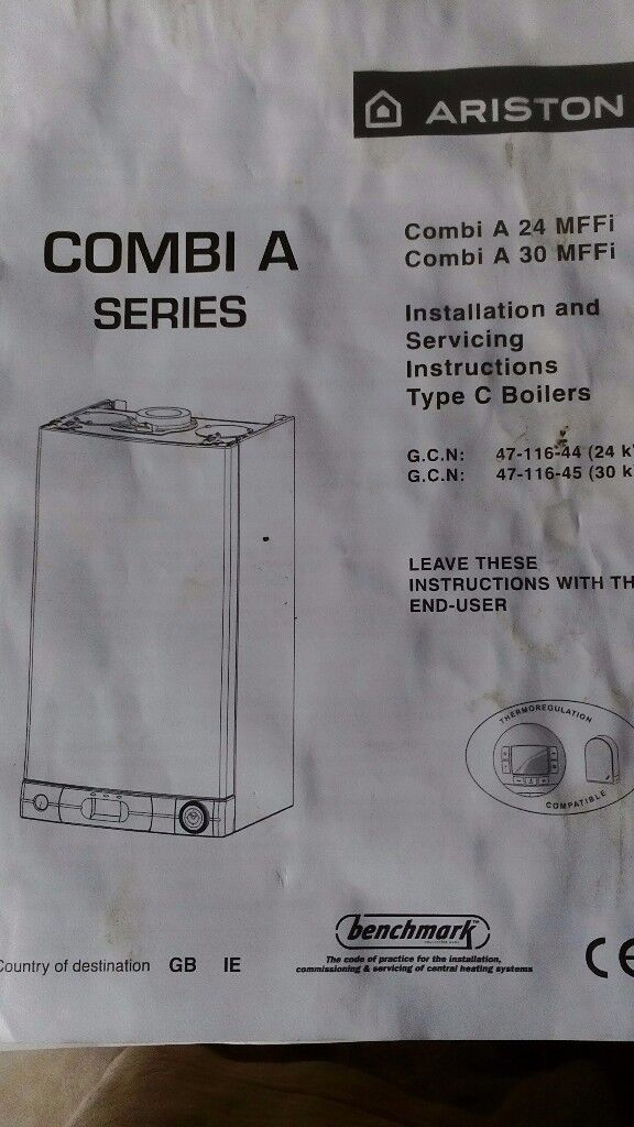 Ariston combi boiler