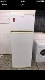 Beko fridge freezer full working very nice 4 month warranty free delivery and installation