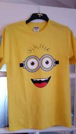 Two minion t shirts
