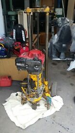 Honda Pile Drill