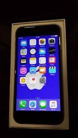 Iphone 6 silver & black