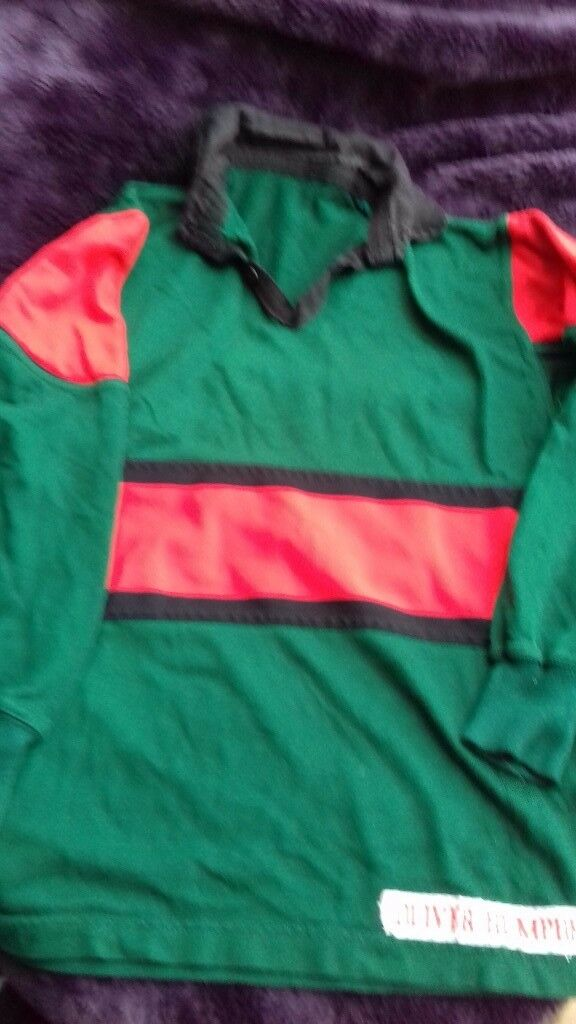 PLYMOUTH COLLEGE PREP REVERSIBLE RUGBY TOP SIZE M/L