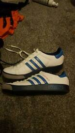 Size 7 adidas trainers
