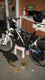 Boardman team txc full suspension bike