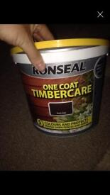 x2 Ronseal fence paint