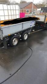 Ivor Williams 8ftx5ft tipping trailer
