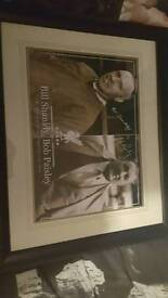 Bill shankly and bob paisley picture frame