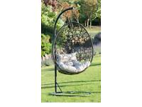 Premium garden egg chair. Free delivery.